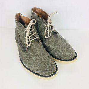Bar III | Zephyr Canvas Chukka Boots Size 8